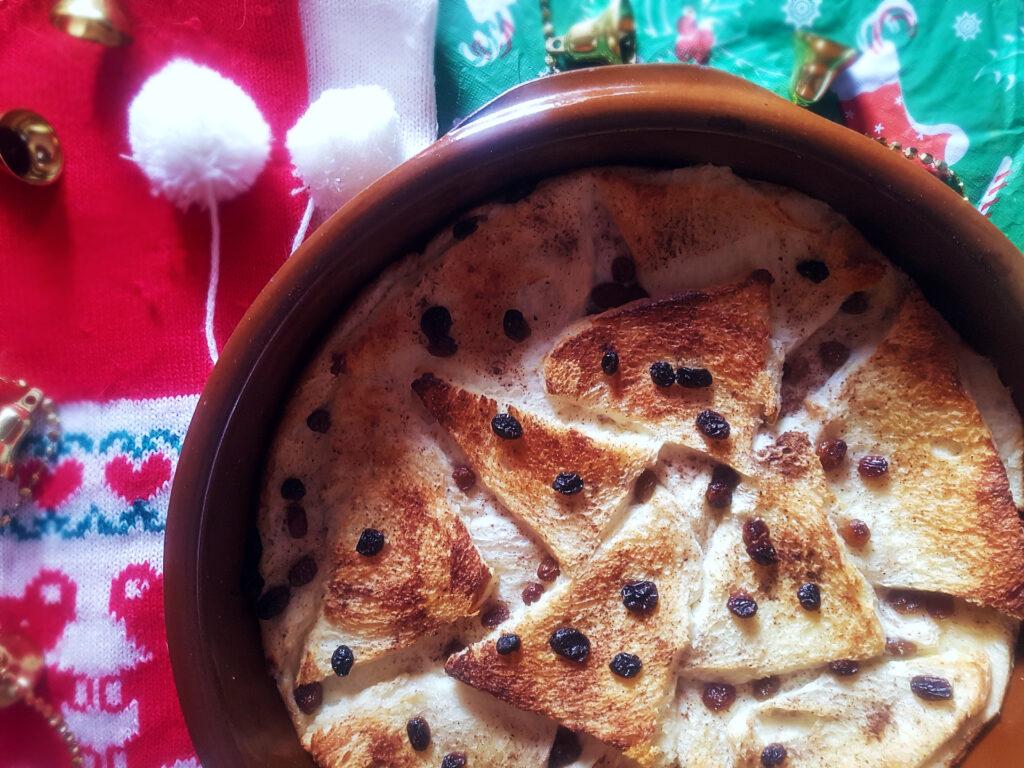 Riċetta: Bread & Butter Pudding
