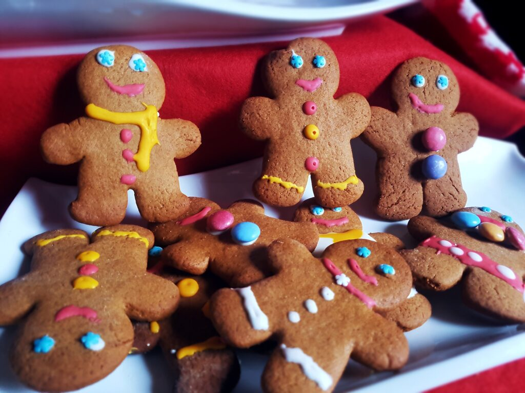 Riċetta: Gallettini Gingerbread Man