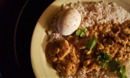 Riċetta: English Chicken Curry