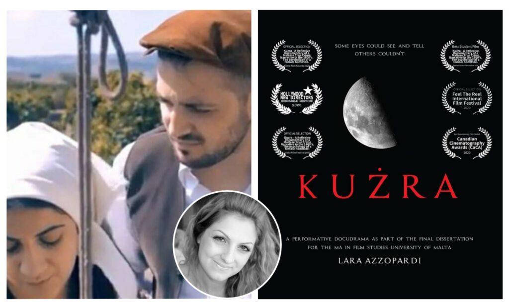 Lara Azzopardi tirbaħ żewġ unuri għad-dokumentarju Kużra