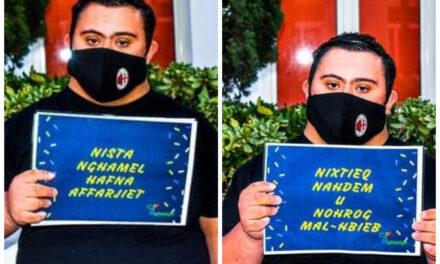 """""""Nista' nagħmel ħafna affarijiet, nixtieq naħdem u noħroġ mall-ħbieb"""" – Neil"""