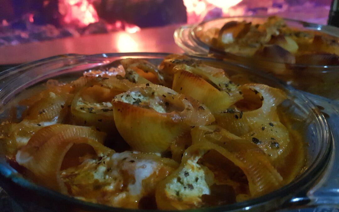 Riċetta: Lumaconi l-Forn bl-Irkotta u l-Pesto