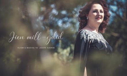 Filmat: Jien mill-Ġdid – Kanzunetta ġdida minn Debbie Scerri
