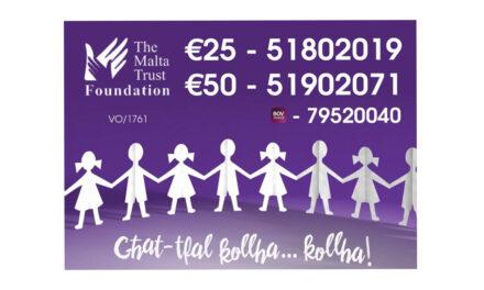Maratona b'risq il-Malta Trust Foundation – Is-Sibt 8 ta' Mejju