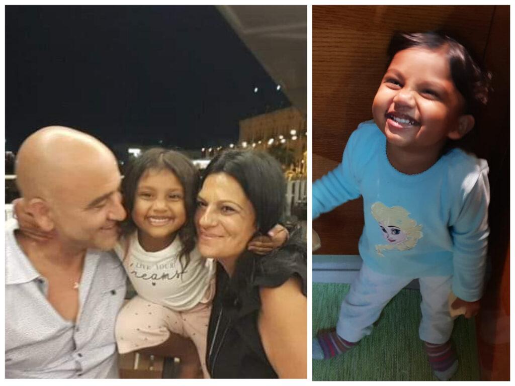 """""""Valentina hija ħajjitna"""" – Karl u Dorianne Azzopardi dwar it-tifla adottiva tagħhom"""