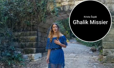 Filmat: Għalik Missier – Kanzunetta ġdida minn Krista Šujak