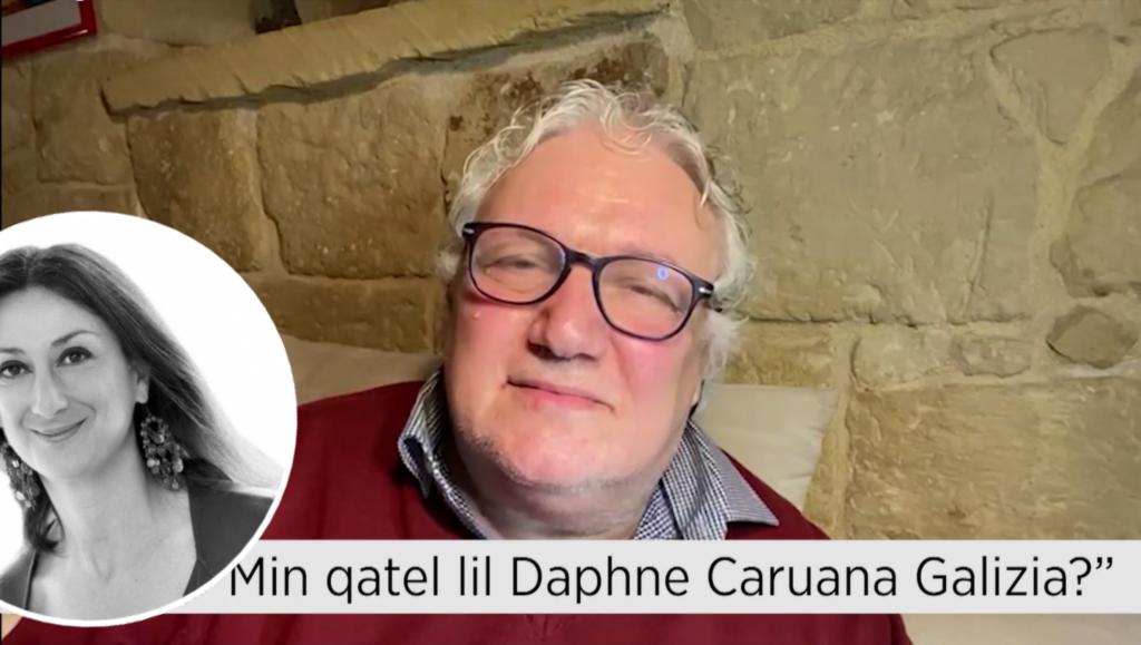 "Filmat: ""Min verament qatel lil Daphne Caruana Galizia?"" – Peppi Azzopardi"