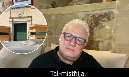 """Filmat: """"Tkellimt ma' omm il-ġuvni li għadu kif ipprova jagħmel suwiċidju fil-Ħabs."""" – Peppi Azzopardi"""