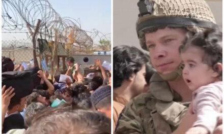 Fl-Afganistan: Ommijiet iwaddbu t-trabi minn fuq il-barbed wire biex isalvawhom mit-Taliban