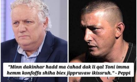 """""""Qed jgħidu li mfittex mill-Pulizija meta fil-verità mhuwiex. Għaliex?"""" – Peppi Azzopardi"""