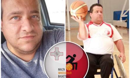 L-isport wassal lil Noel biex iwettaq il-ħolma tiegħu – L-Assoċjazzjoni tal-Malta Wheelchair Basketball