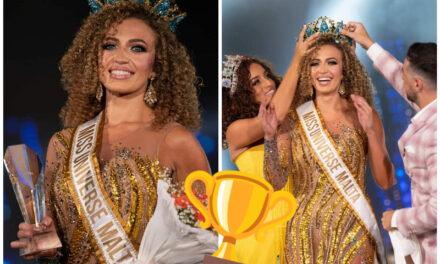 Jade Cini hija r-rebbieħa ta' Miss Universe Malta